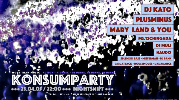 KONSUMPARTY Flyer
